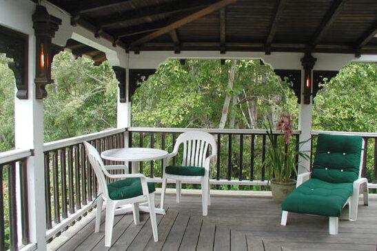 Lucy's Balcony   Howard Creek Ranch