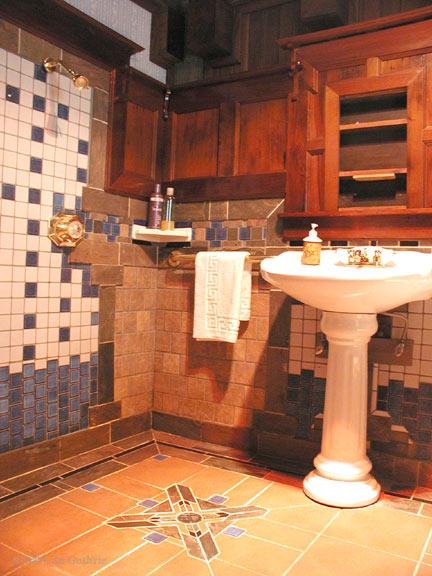 Walden Bathroom   Howard Creek Ranch