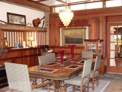 Captains Dining | Howard Creek Ranch