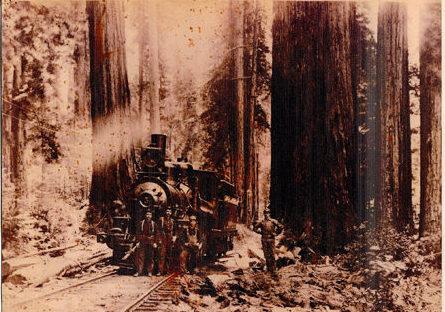 Howard Creek Ranch Railroad