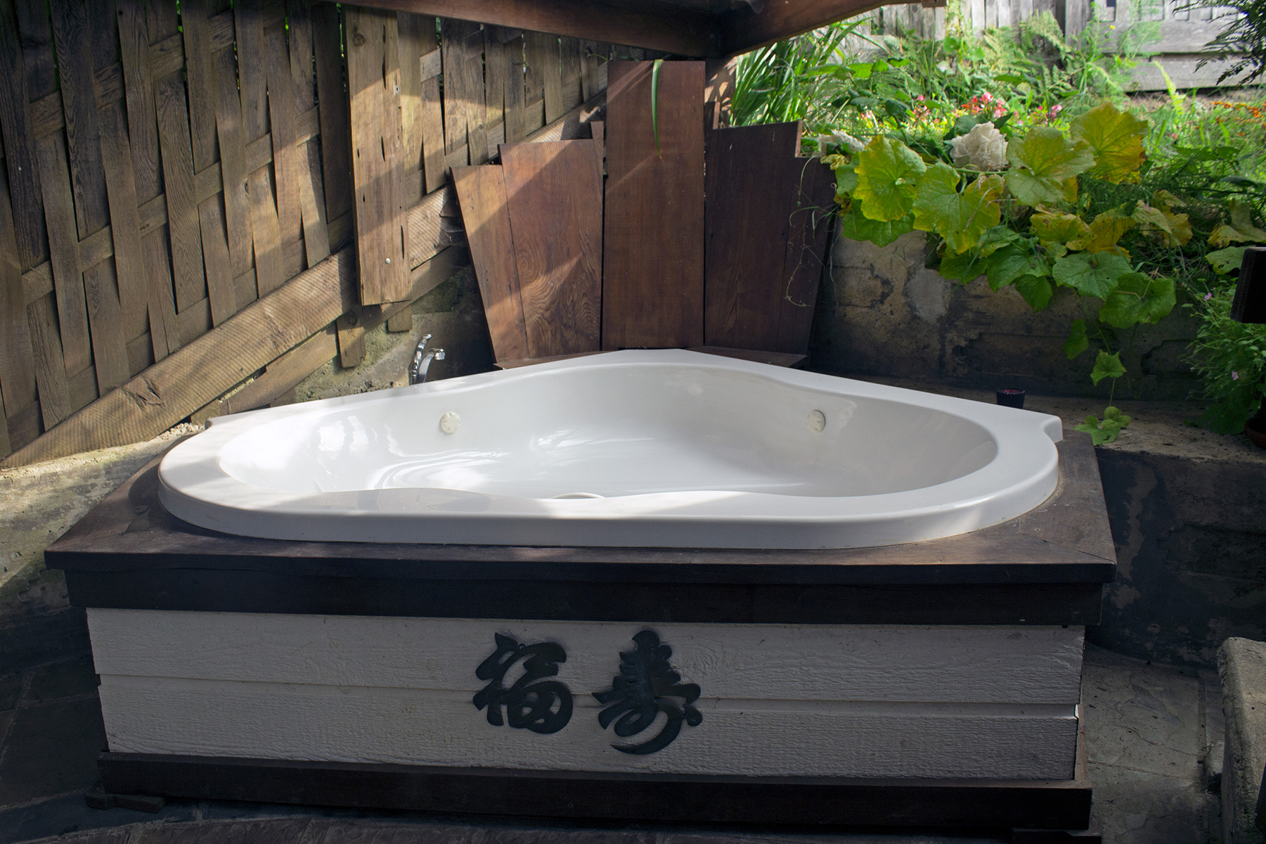 Hot Tub Octagon