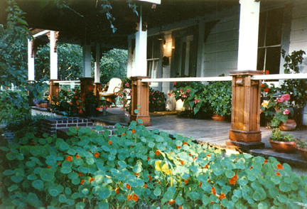 Front of garden | Howard Creek Ranch