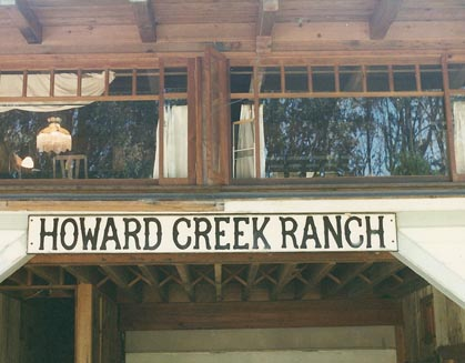 Carriage House | Howard Creek Ranch