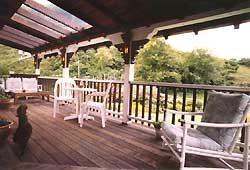 Sunroom Balcony   Howard Creek Ranch